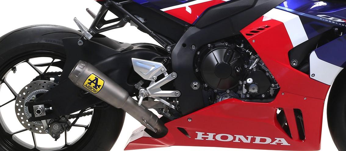 【オープニングセール】 Arrow CBR1000RR-R 2020 フルエキ Competition Evo Pro Race フルチタン チタンエンド 71212CP, オオツシ 9d871180