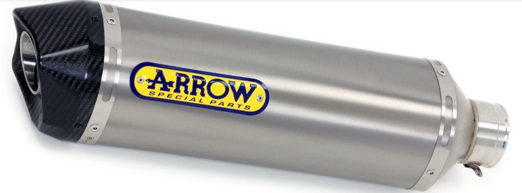 Arrow バンディット1250FA 07-16 爆安プライス スリップオン Race-Tech アルミ ランキングTOP5 カーボンエンド