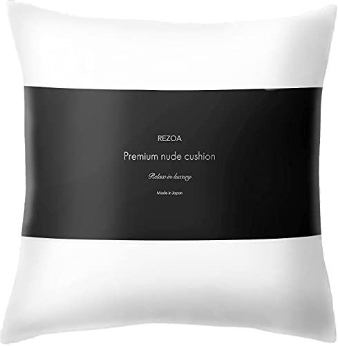 REZOA レゾア クッション 中身 日本製 限定価格セール 適度な弾力でへたらない cm 賜物 45×45 ヌードクッション 洗濯機で洗える