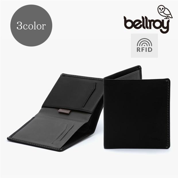 【送料無料】bellroy/ベルロイ RFIDスキミング防止機能付 ノートスリーブウォレット 【全3色】