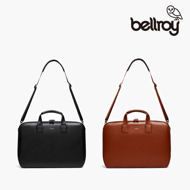 Bellroy/ベルロイ ラップトップブリーフ デザイナーズエディション【ブラック・バーントシェンナ】
