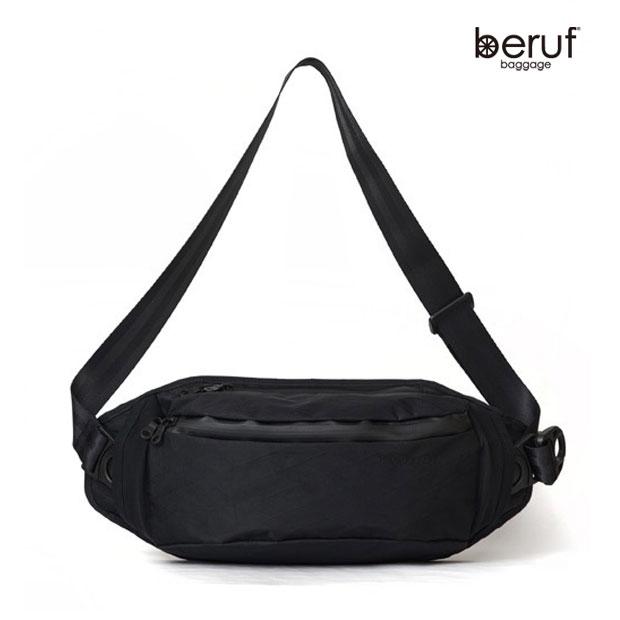 beruf baggage/ベルーフバゲージ STREAM SLING PACK UL スリングパック/ボディバッグ【ブラック】