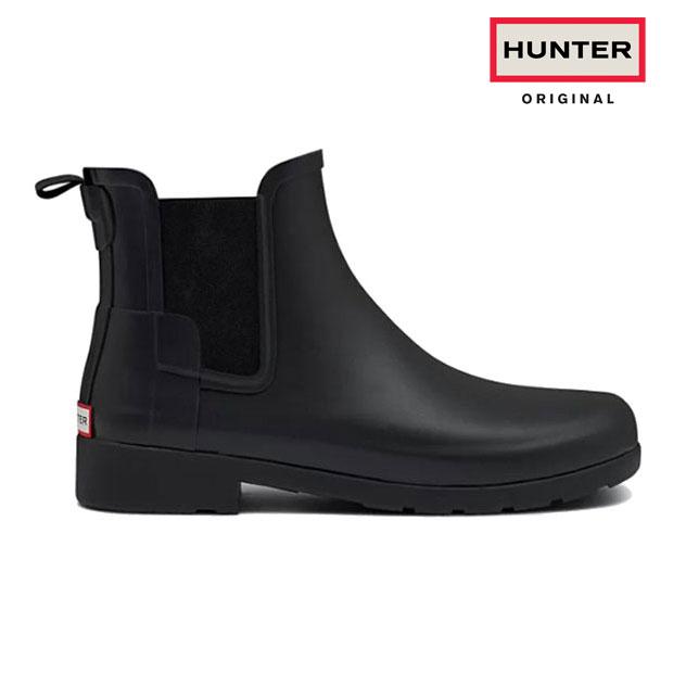 HUNTER/ハンター WFS1017RMA オリジナル リファインド チェルシーブーツ 【ブラック・ネイビー】