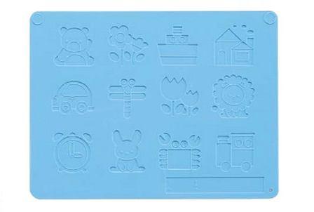 押し型付ねんど板 激安超特価 水色 銀鳥産業 新作入荷