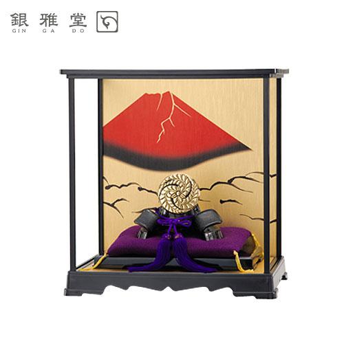 【送料無料】五月人形 黒田官兵衛 飾りケースセット 戦国武将 インテリア 送料無料