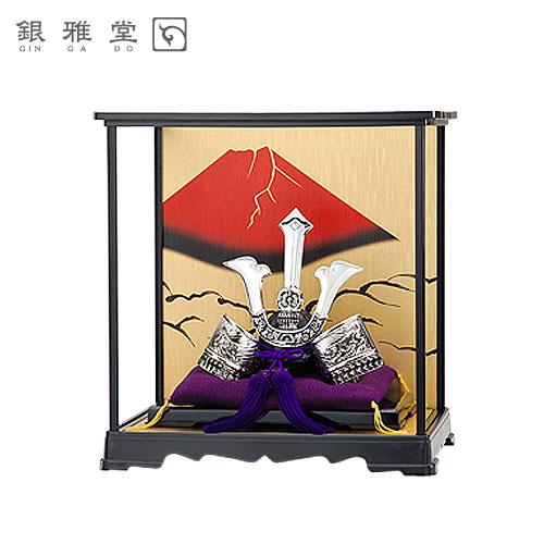 【送料無料】五月人形 楠木正成公 飾りケースセット 戦国武将 インテリア 送料無料