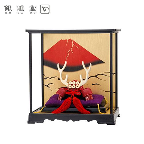 【送料無料】五月人形 真田幸村公 飾りケースセット 戦国武将 インテリア 送料無料