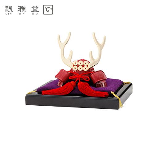 【送料無料】真田幸村兜(かぶと)飾り台セット