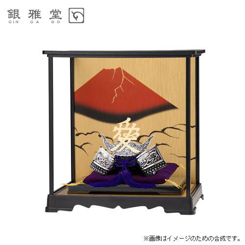 【送料無料】五月人形 直江兼続公 飾りケースセット 戦国武将 インテリア 送料無料