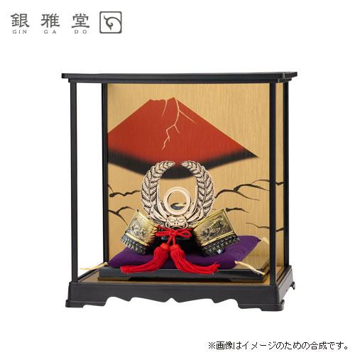 【送料無料】徳川家康公 飾りケースセット 戦国武将兜。かぶとを端午の節句のお祝いに!