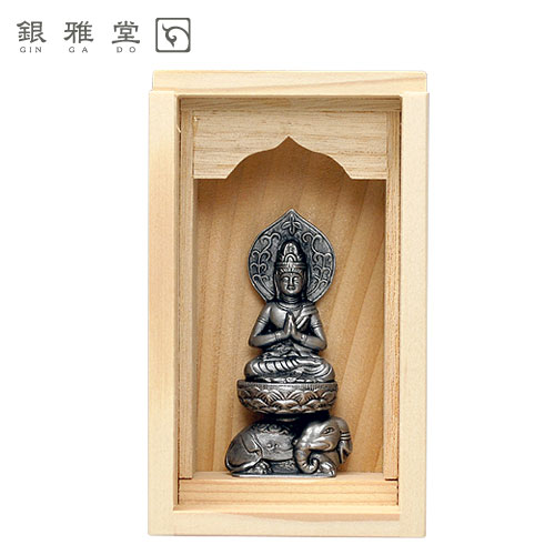 《手元仏像》普賢菩薩