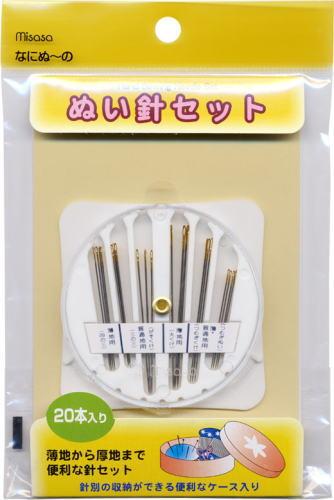 ぬい針セット 当店限定販売 No.6304 ミササ なにぬ~の 縫い針 期間限定で特別価格 ノーション 裁縫針