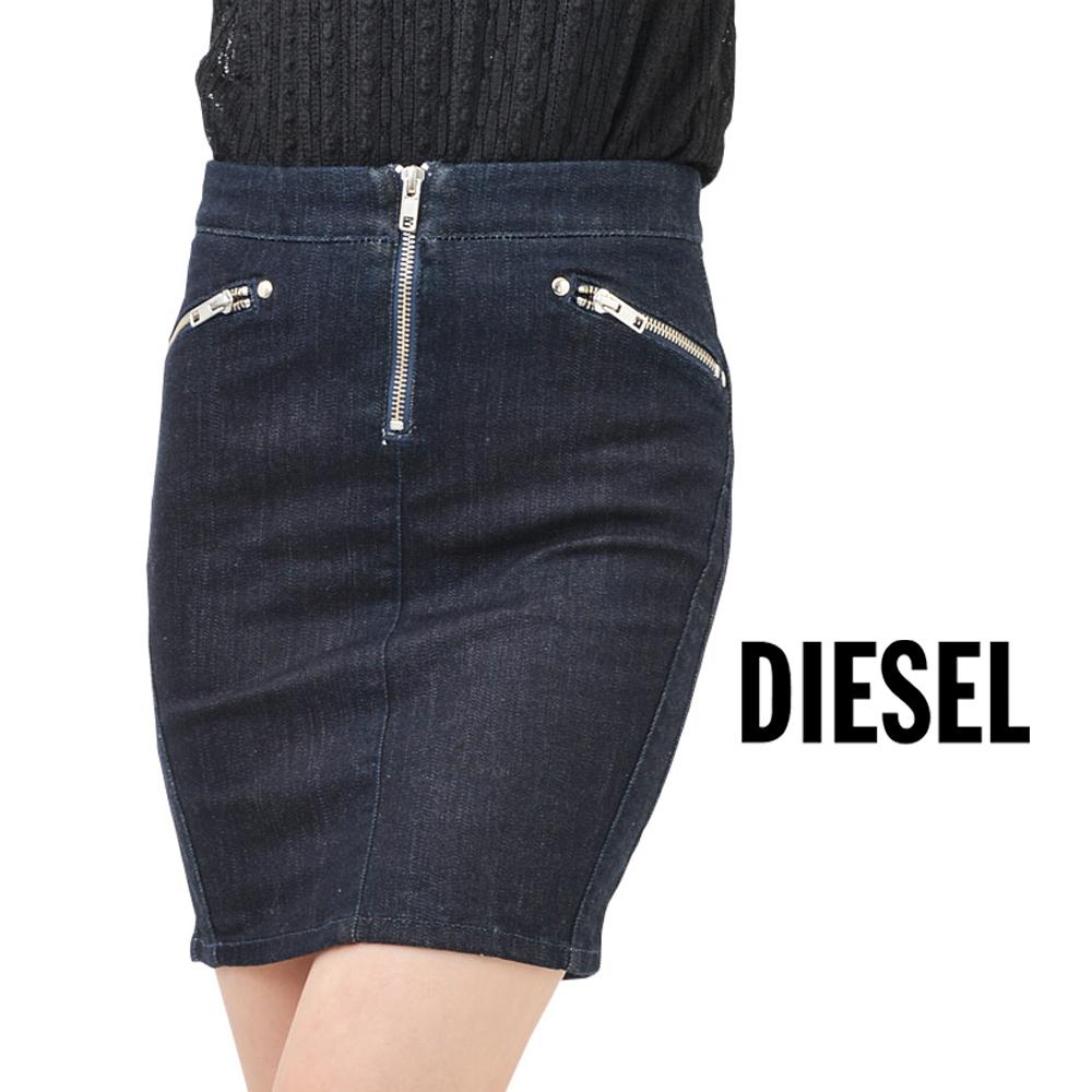 いよいよ人気ブランド デニムなのでオールシーズンお使い頂けるアイテムです DIESEL ディーゼル 大人気 YUSRA ストレッチデニム タイト レディース ミニスカート スカート