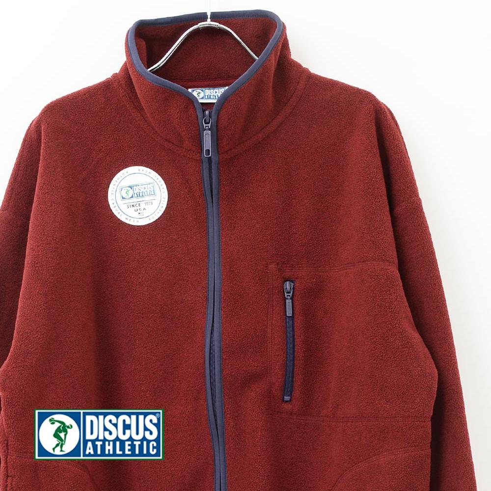 DISCUS ATHLETIC から秋冬の定番アイテムとなったフリースジャケット 並行輸入品 ディスカス その他アウター フリースジップジャケット 国内正規総代理店アイテム ディスカスアスレチック レディース