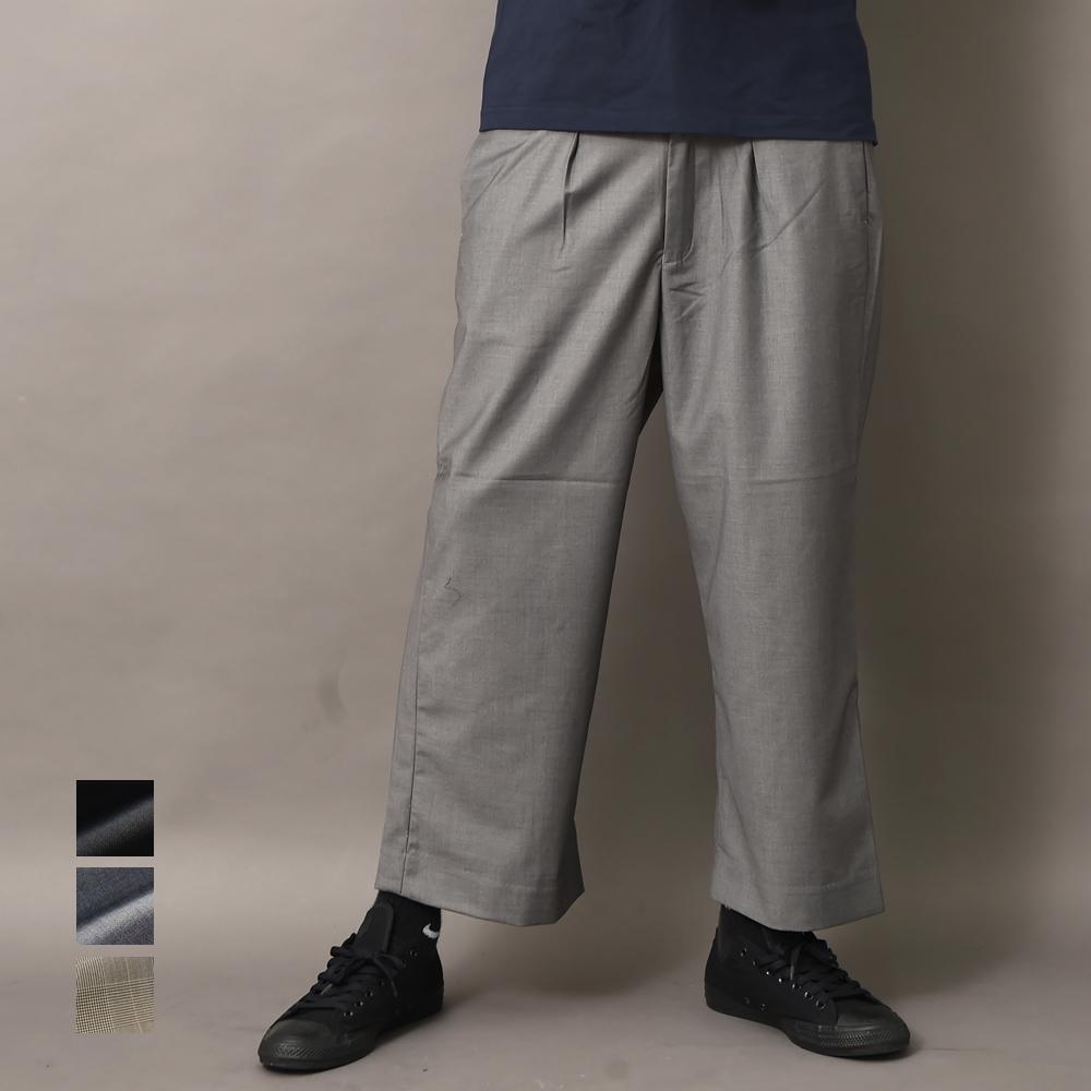ワイドパンツ いよいよ人気ブランド メンズ 未使用 ガウチョワイドパンツ TRロング