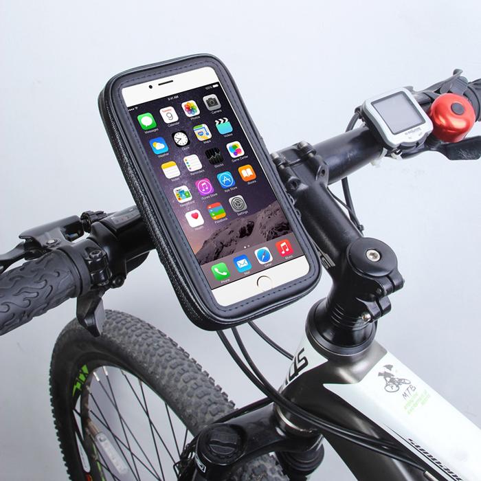 iPhone6 Plus 対応 サイクルホルダー 自転車ホルダー iPhone6sPlus iPhone6Plusにも対応 自転車用 スマートフォンホルダー ~5.5インチ用 ケース自転車 ホルダー スマホホルダー バイク スタンド宅配便送料無料 サイクリング 防塵 スマートフォン 大人気! 公式 防水