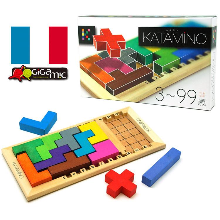 フランス発 世界的人気の名作知育パズル カタミノ Gigamic ギガミック 日時指定 KATAMINO 正規輸入品世界中で遊ばれている大人気知育パズル 楽しみながら数学的思考力を養う 玩具 ファクトリーアウトレット ブロック パズル おもちゃ宅配便送料無料 ボードゲーム 知育 積木 脳トレ