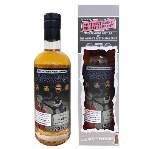 ブティックウイスキー スペイサイド 20年 #4 バッチ4 バーボンバレル 500ml 49.8度 スコッチ シングルモルト ウィスキー ボトラーズ whisky 長S
