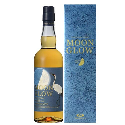 ムーングロウ ハーフムーン 2019 700ml 43度 三郎丸蒸留所 MOON GLOW 若鶴酒造 ジャパニーズ ブレンデッド ウイスキー ウィスキー 長S japanese whisky