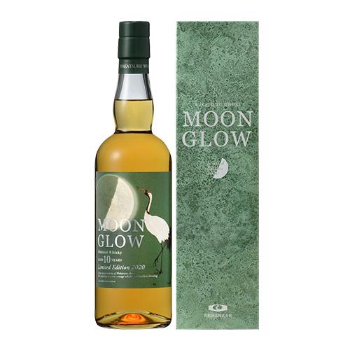 MOON GLOW Limited Edition ムーングロウ リミテッドエディション 2020 700ml 43度 若鶴酒造 三郎丸蒸留所 ジャパニーズ ブレンデッド ウイスキー ウィスキー 長S