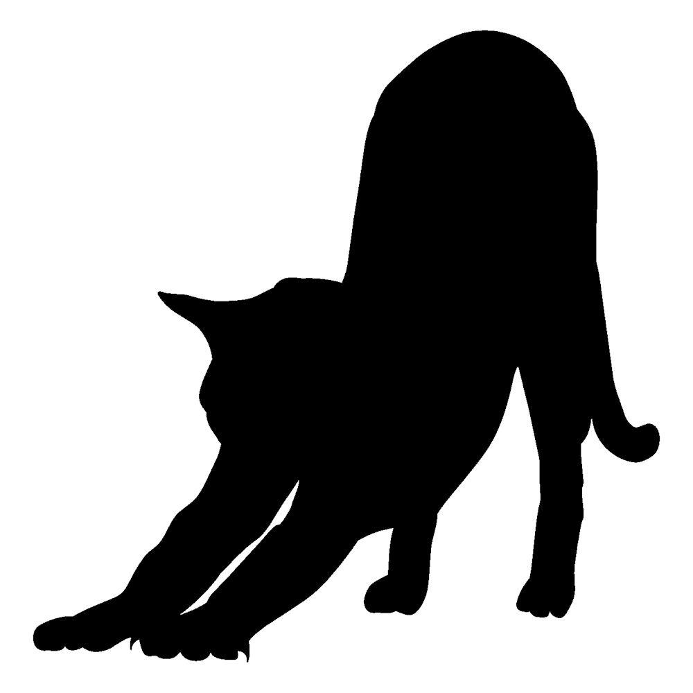 ねこ好きにはたまらない 猫 シルエット 贈答品 かわいい セールSALE%OFF ねこ ステッカー枠サイズ:5cm×5cmねこ生活 猫グッズ ネコ雑貨 シール ステッカー 車 猫雑貨 猫車用 ねこ雑貨