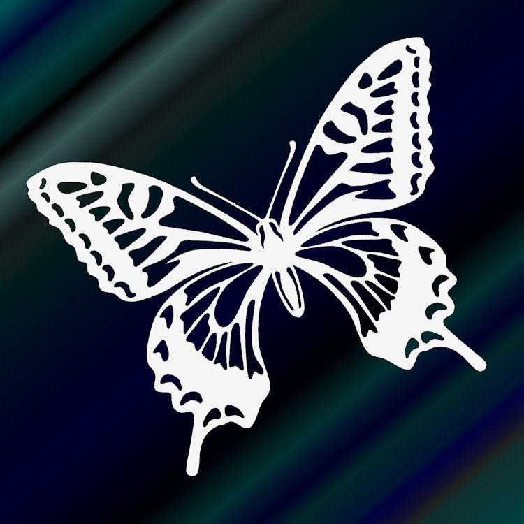 Butterfly sticker decal stickers 9 cm x 10 cm cute ageha decal sticker sticker car sticker popular sticker butterfly seal