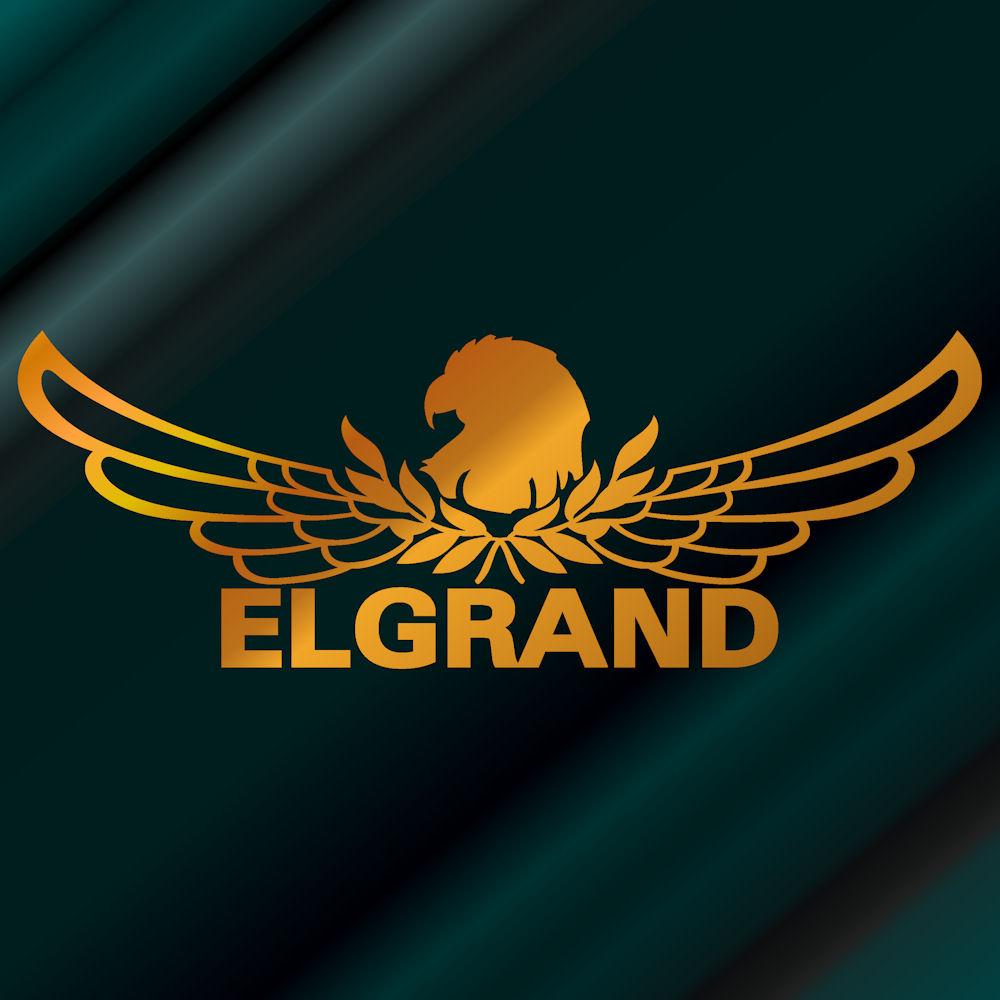【送料無料】エンブレム エルグランド ステッカー 車 サイズ:18cm×50cm(金色)リアガラス ステッカー かっこいい