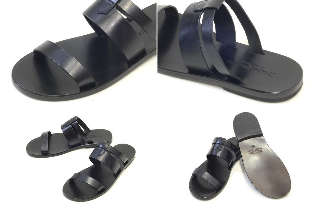 BERTELLI CESARE (Cesare Bertelli) leather strap Sandals V2592