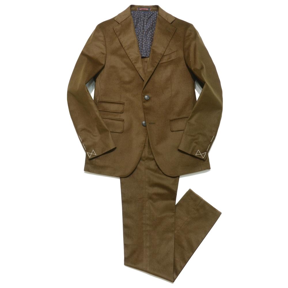 【SALE50】THE GIGI(ザ ジジ)コットンモールスキンソリッド2Bスーツ KLIMT/A-E216 17162001039