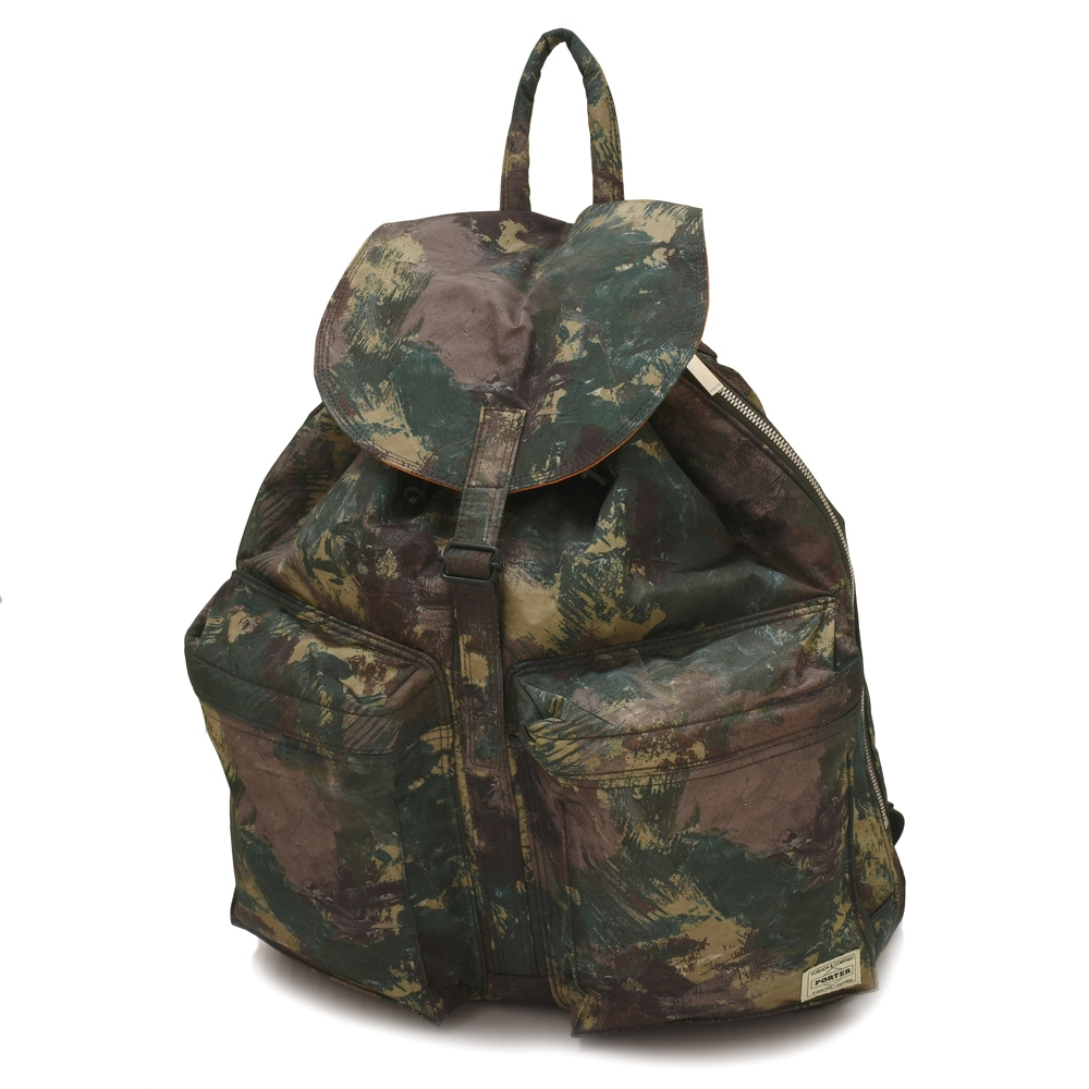 c1aa6cd885 MACKINTOSH (Macintosh) X PORTER (porter) Camouflage print nylon backpack  PACK-8A.