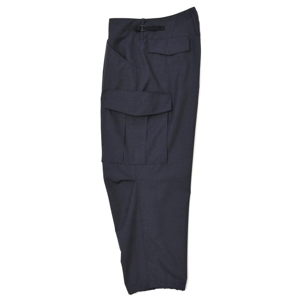 1 CellarDoor (seller door) polyester wool tropical solid pleats cargo cropped pants CARGO A125 13071006025  sc 1 st  Rakuten & ginlet | Rakuten Global Market: 1 CellarDoor (seller door ...