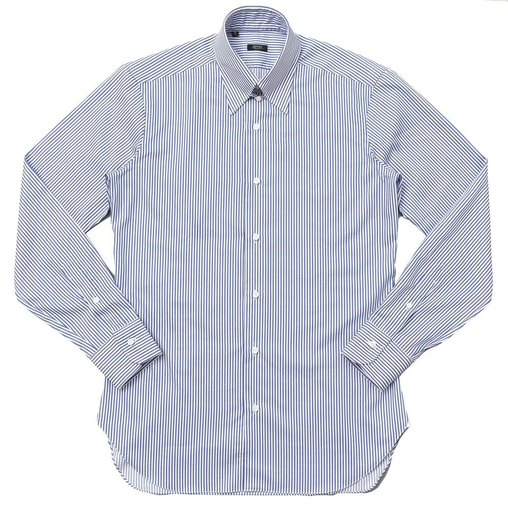 BARBA(バルバ)KLARK コットンツイルロンドンストライプタブカラーシャツ I1U862U00622R 11172209022
