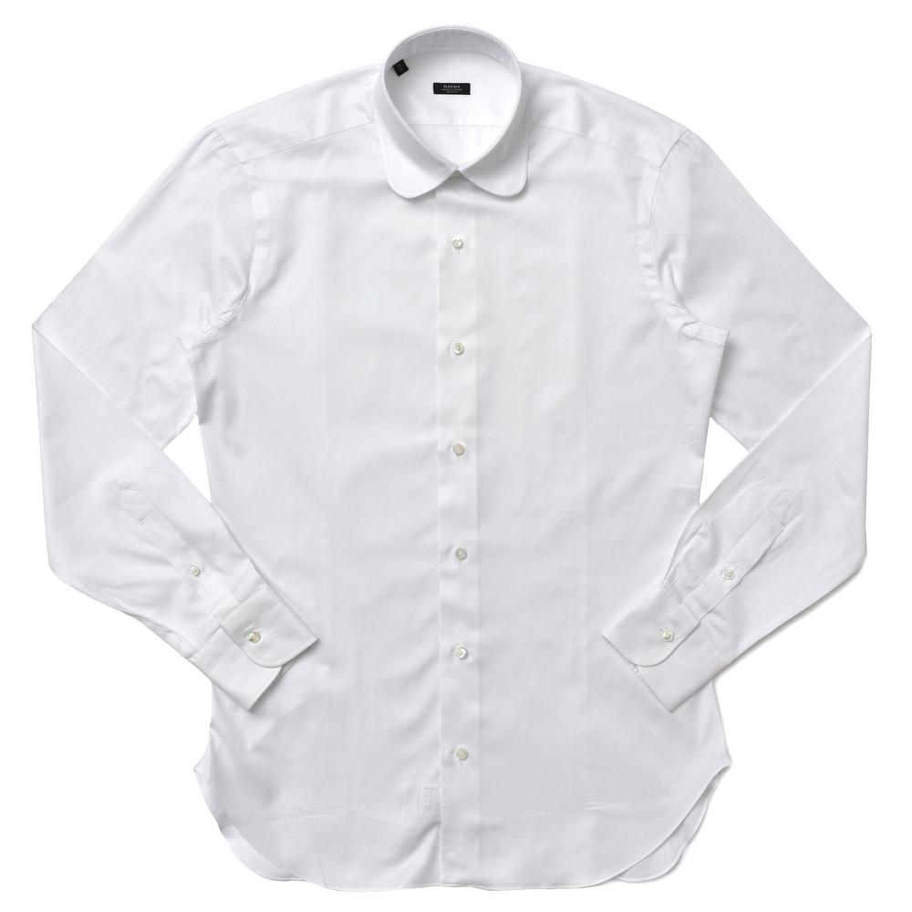 【SALE30】BARBA(バルバ)ROUND コットンロイヤルオックスラウンドカラーシャツ I1U592PZ5009U 11172215022
