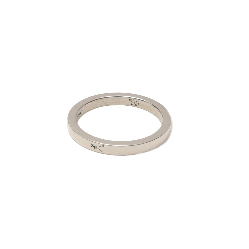 LE GRAMME(ル グラム)ポリッシュドスターリングシルバーソリッドリング(2mm幅) LG-CARPO011-03 19472000025