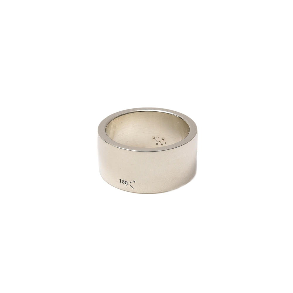 【SALE30】LE GRAMME(ル グラム)ポリッシュドスターリングシルバーソリッドリング(11mm幅) LG-CARPO011-15 19472003025