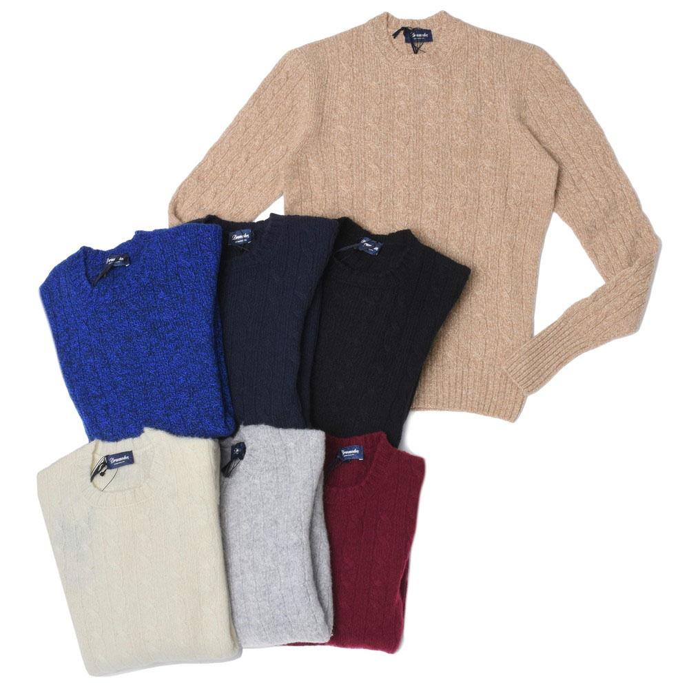 ginlet   Rakuten Global Market: Drumohr Midle gage Wool Cable Crew ...