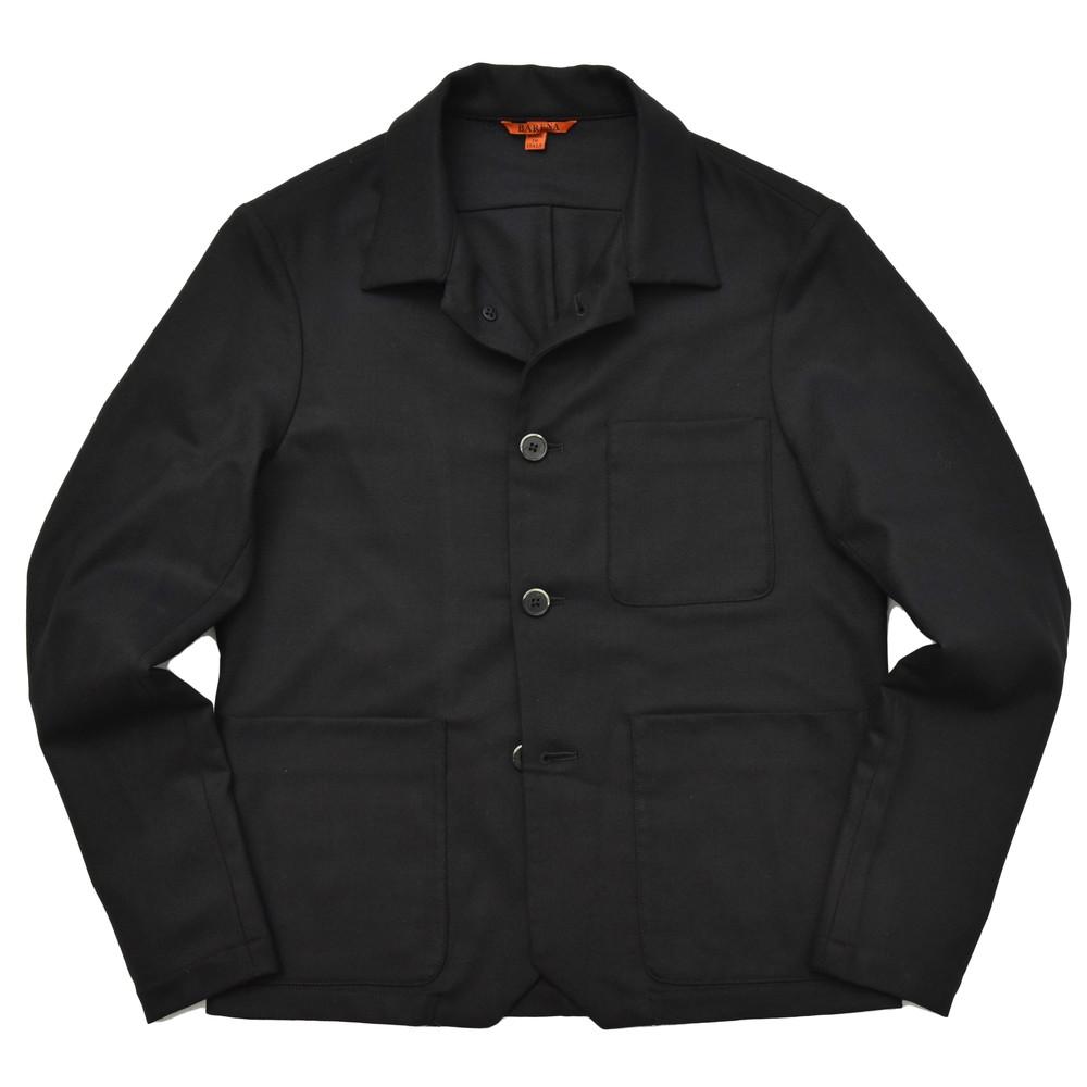 【SALE40】BARENA(バレナ)ウールストレッチサキソニーシャツジャケット OSU2001 14082402025