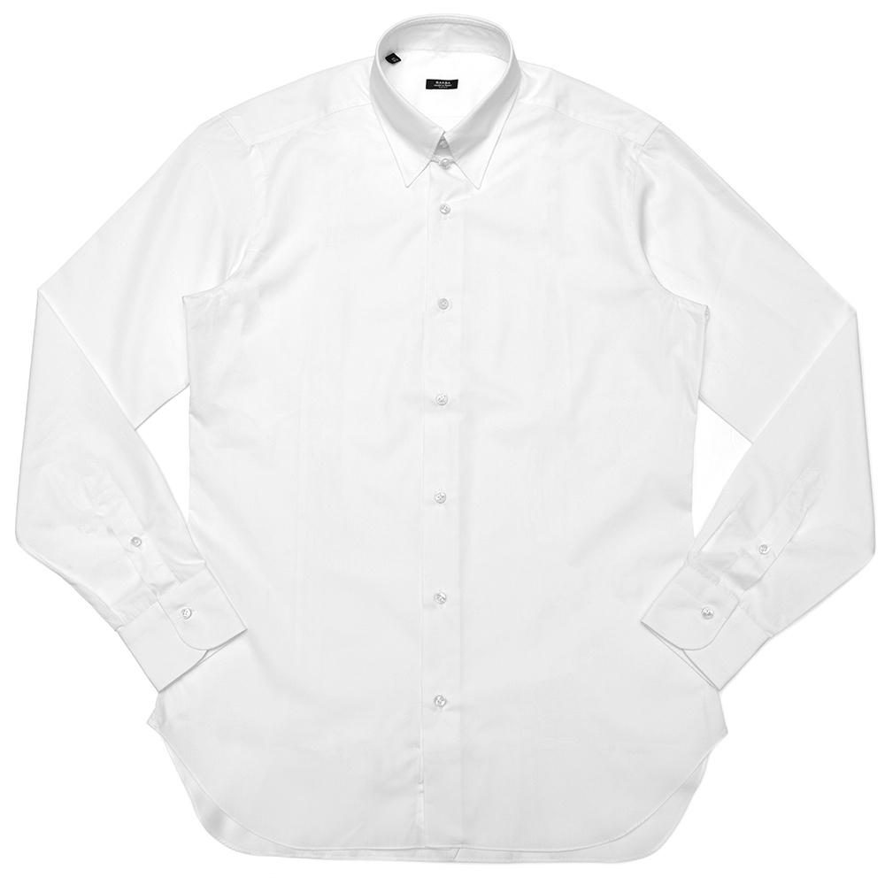 BARBA(バルバ)TAB コットンブロードソリッドタブカラーシャツ I1U682568401U 11182202022
