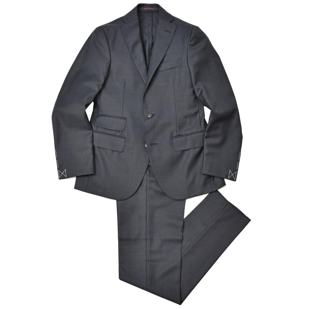 THE GIGI(ザ ジジ)DEGAS2 ウールハウンドトゥース2B1プリーツスーツ T/AP 17182400039