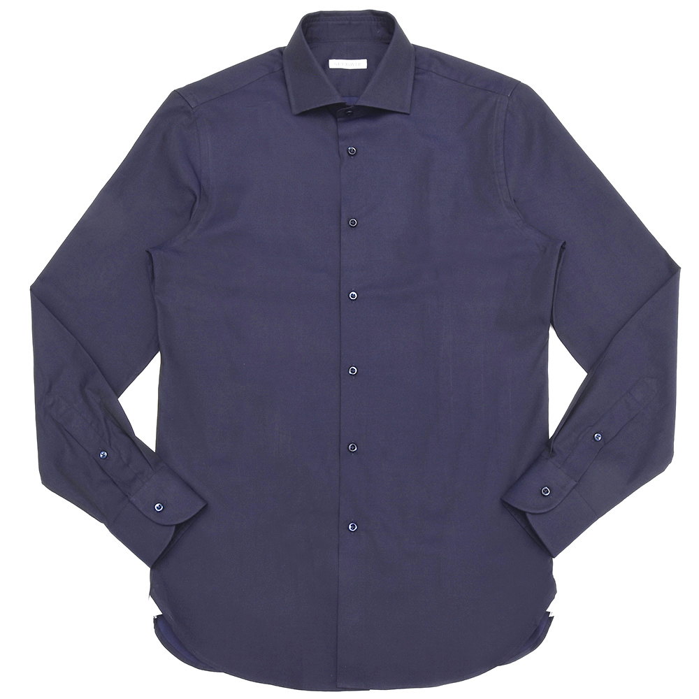 GUY ROVER(ギ ローバー)コットンツイルソリッドワイドカラーシャツ W2530/582102 11191200027