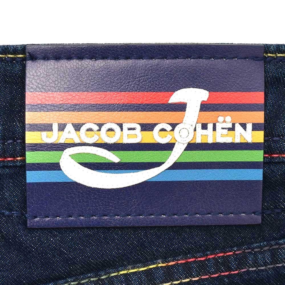 JACOB COHEN(ヤコブ コーエン)J688 RAINBOW ウォシュドコットンタイトストレートデニム 70743/919-W1 53095007052