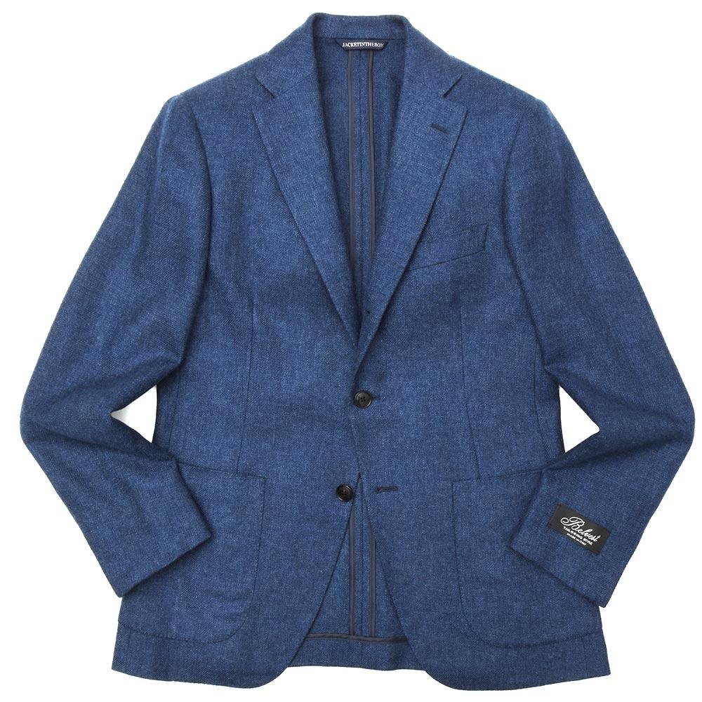 Belvest(ベルベスト)カシミアダイアゴナルライトツィード3Bジャケット NEW JACKET IN THE BOX G10647/23700-001 17092202020