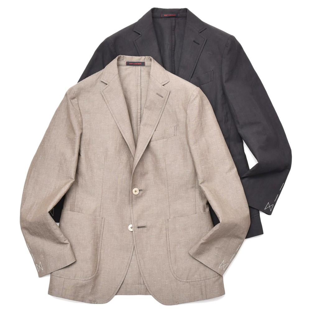 THE GIGI(ザ ジジ)ANGIE コットンリネンソリッド2Bジャケット TM225 17001400039