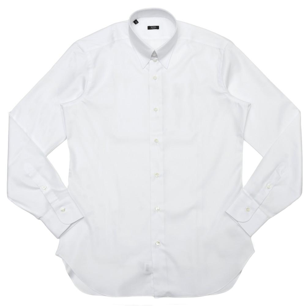 BARBA(バルバ)TAB コットンピンオックスソリッドタブカラーシャツ I/TAB/TONDO/6203 11101208022