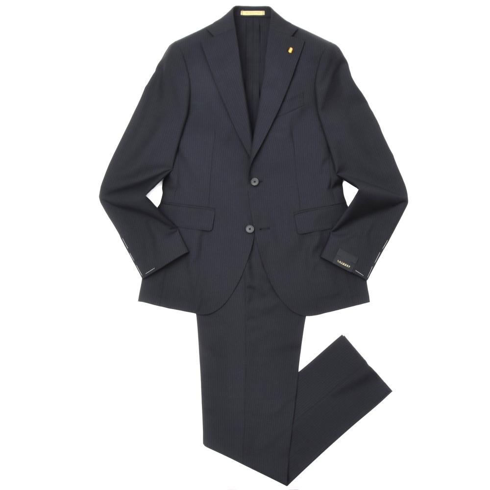LATORRE(ラトーレ)ウールトロピカルシャドーストライプ2B1プリーツスーツ ITH4/U70791/11731 17105000052