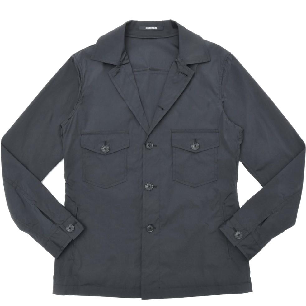 【SALE30】TAGLIATORE(タリアトーレ)BUCKバック ストレッチナイロンソリッドシャツジャケット BUCK/17UER043 17001015054
