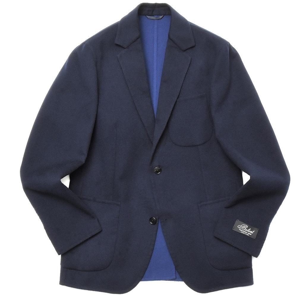 国内正規品 送料無料 迅速な対応で商品をお届け致します あす楽対応 salotto Belvest 17002200020 ダブルフェイスウールフランネスソリッド2Bジャケット ベルベスト 23366-003 G42DBA 限定モデル