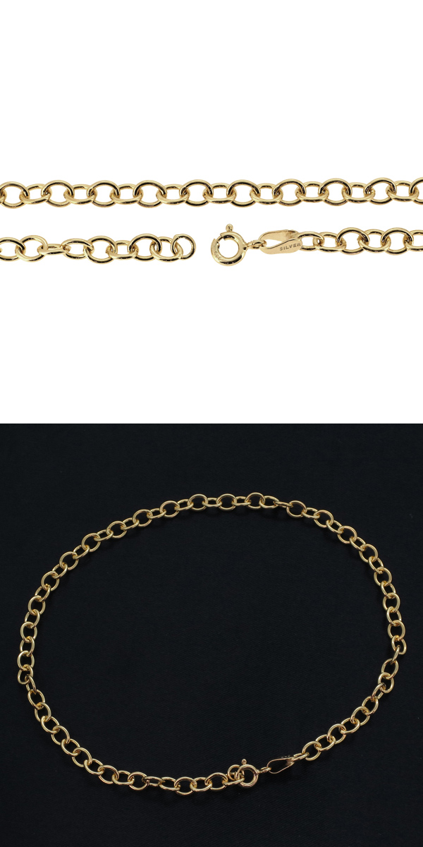 gold jewelry plated brand metal women rose for style and elegant product wholesale vintage chain beads jewellery anklets silver anklet fashion simple jewelleryjewelry