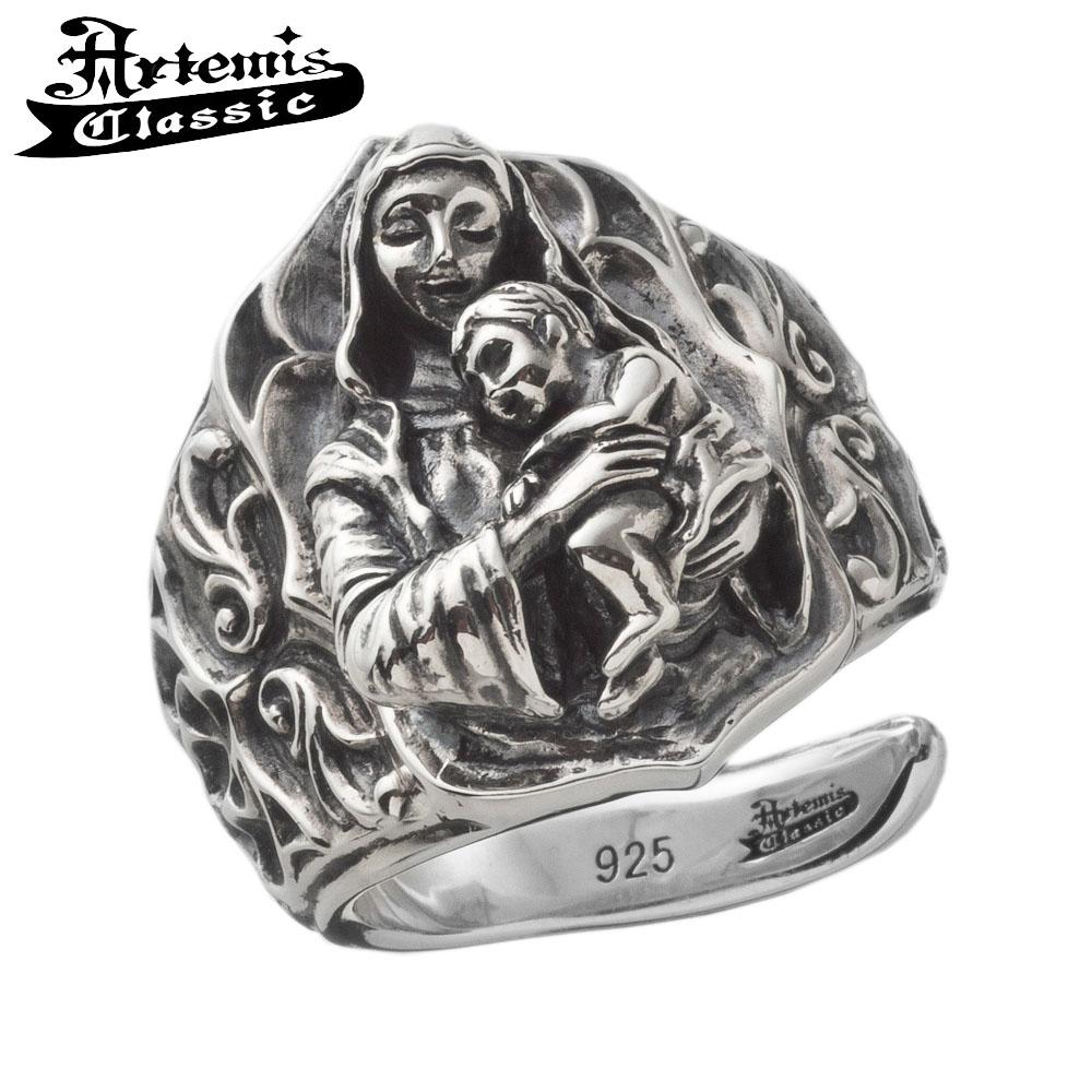 アルテミスクラシック 聖母子リング Artemis Classic Phoenix Collection アルテミスクラッシック リング メンズ シルバー925 メンズリング シルバーリング 男性 メンズ指輪 男性用 指輪 ブランド プレゼント 人気 彼氏