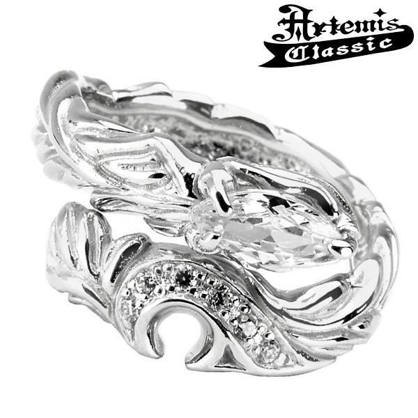 アルテミスクラシック フェニックスハートリング フリーサイズ Artemis Classic アルテミスクラッシック リング メンズ シルバー925 メンズリング シルバーリング 男性 メンズ指輪 男性用 指輪 ブランド プレゼント 人気 彼氏 おしゃれ